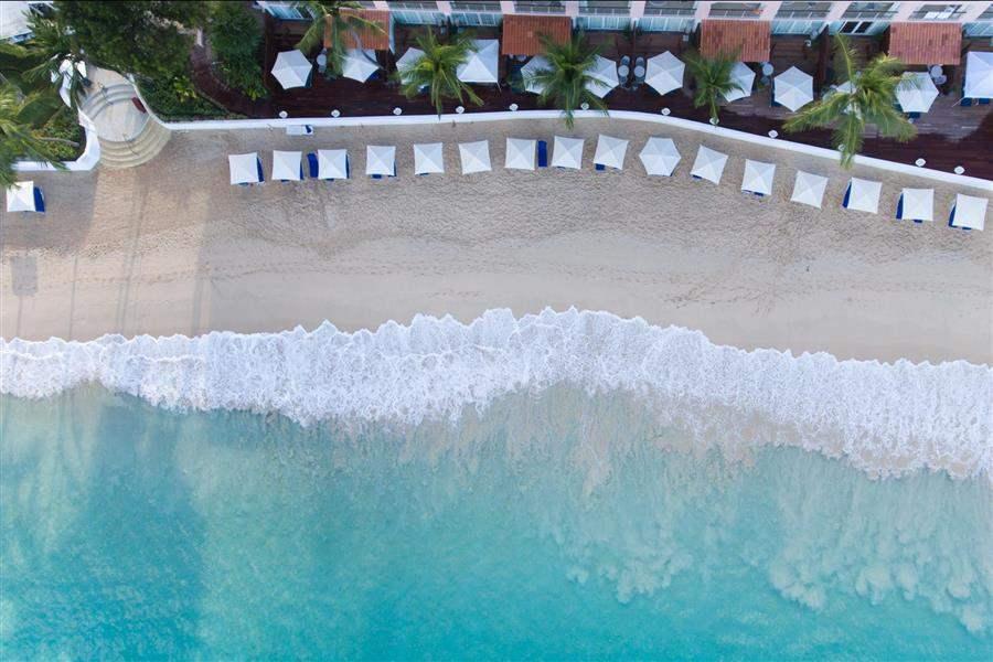 Royal Pavilion Beach Aerial