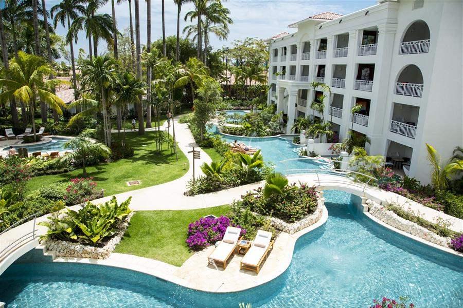 Sandals Barbados Swim Up Suite Aerial