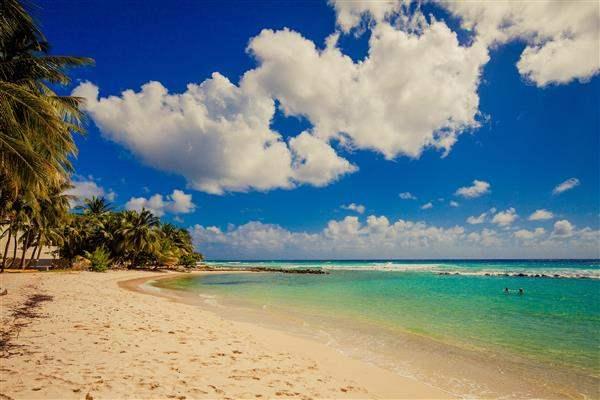 Sugar Bay Barbados White Sand Blue Waters