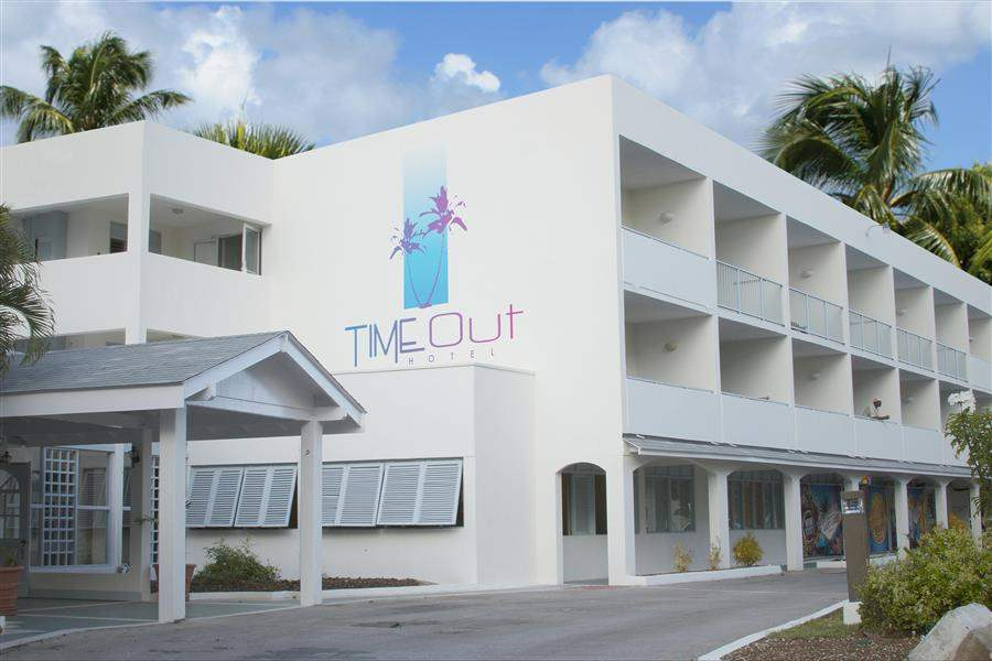 Time Out Hotel Barbados Exterior Day