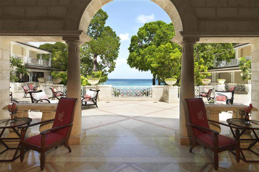 Sandy Lane Reception View