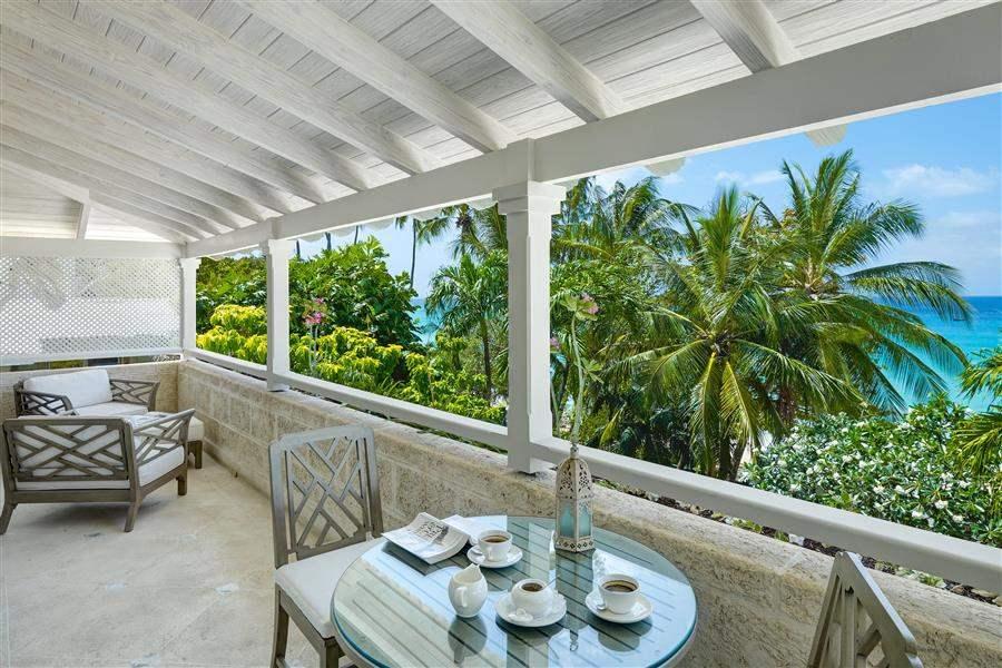 The Lonestar Barbados Villa Balcony