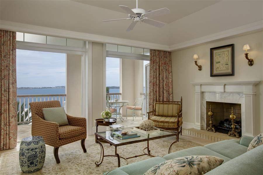 Villa Suite Living Area