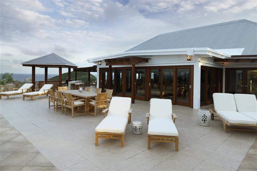 Peter Island Resort Crows Nest Villa Deck
