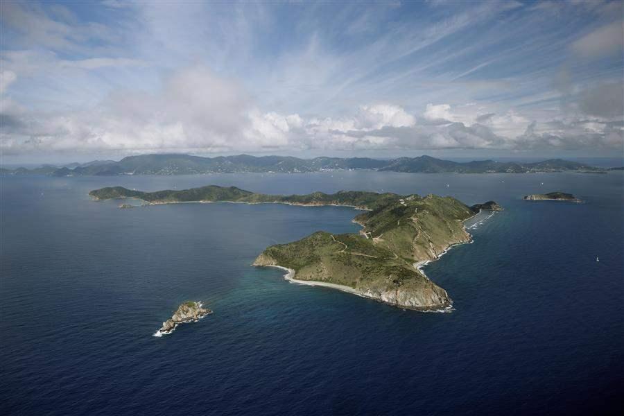 Peter Island Resort Aerial Shot Of Island