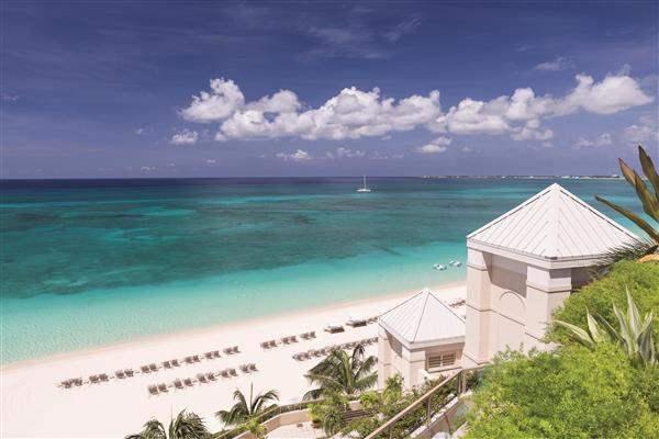 Ritz Carlton Grand Cayman View Of Beach