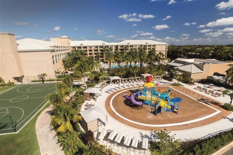 Ritz Carlton Grand Cayman Grounds Aerial
