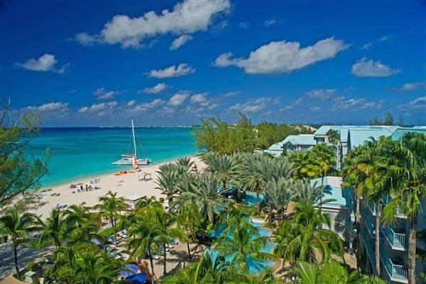 Westin Grand Cayman Seven Mile Beach Resort and Spa Beach Aerial