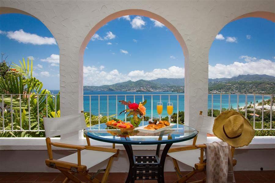 Mount Cinnamon Resortand Beach Club Balcony Dining