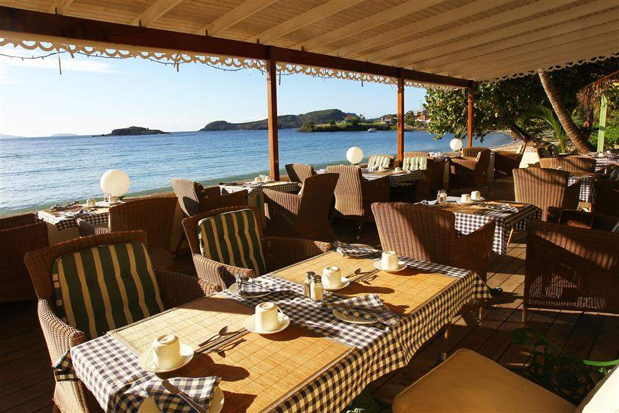Bequia Beach Hotel Resort Dining