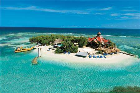 Sandals Royal Caribbean Resortand Private Island Private Island Aerial