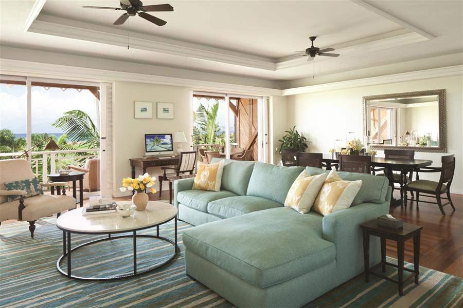 Four Seasons Resort Nevis Luxury Suite Lounge