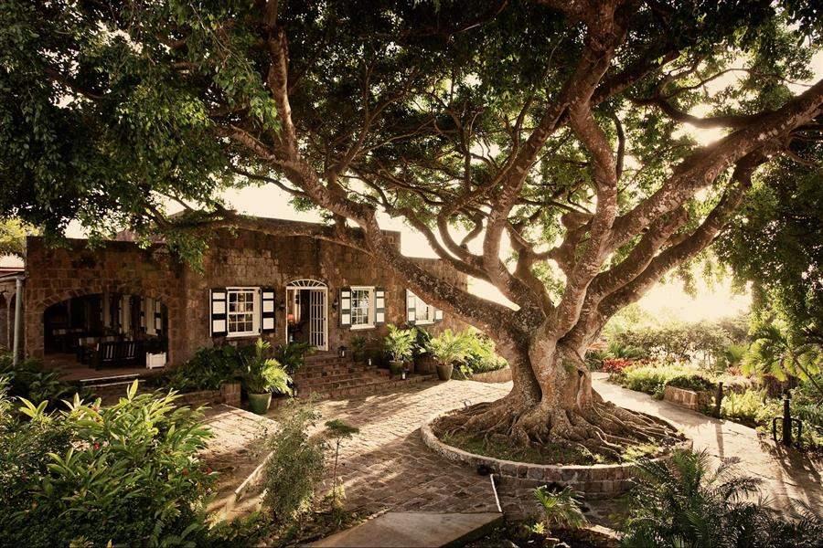 Montpelier Plantation Inn Saint Kittsand Nevis Exterior Shot
