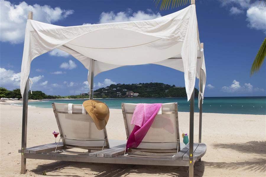 Rendezvous St Lucia Beach Cabana