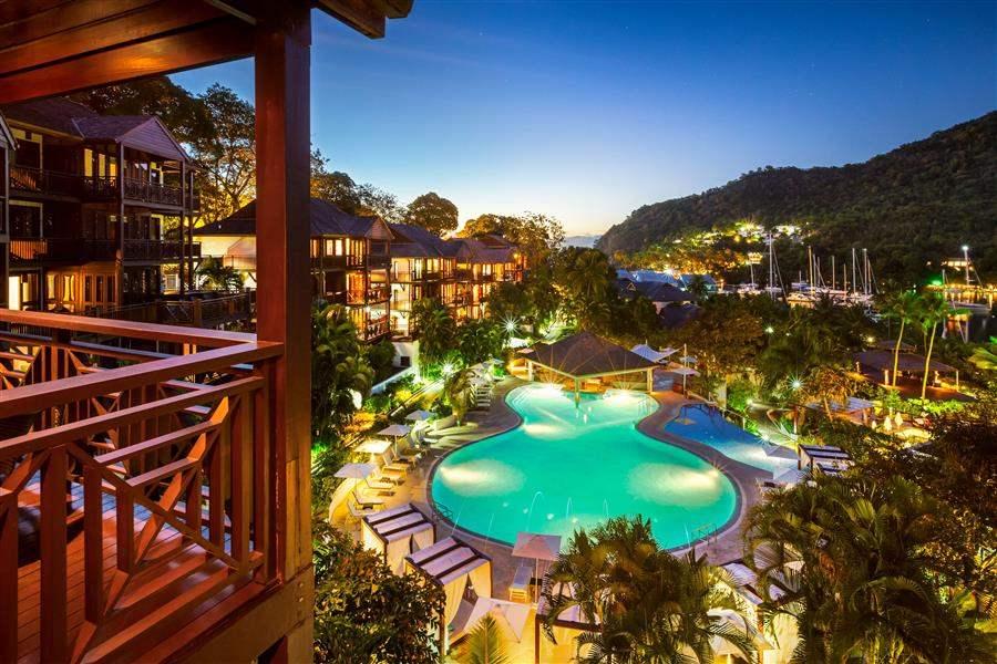 ResortAtNight