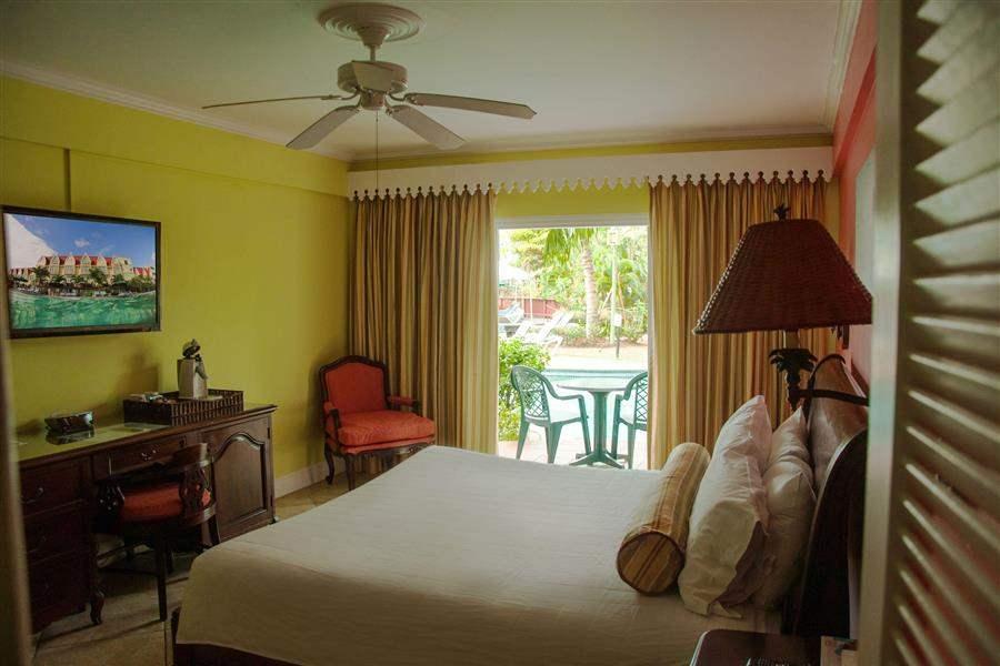 Coco Palm Patio Pool View Room