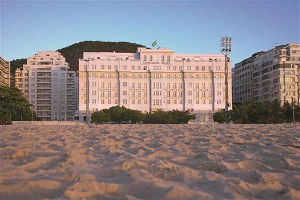 Copacabana Palace Hotel Exterior