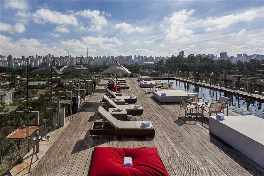 Unique Sao Paulo Hotel Skye Pool