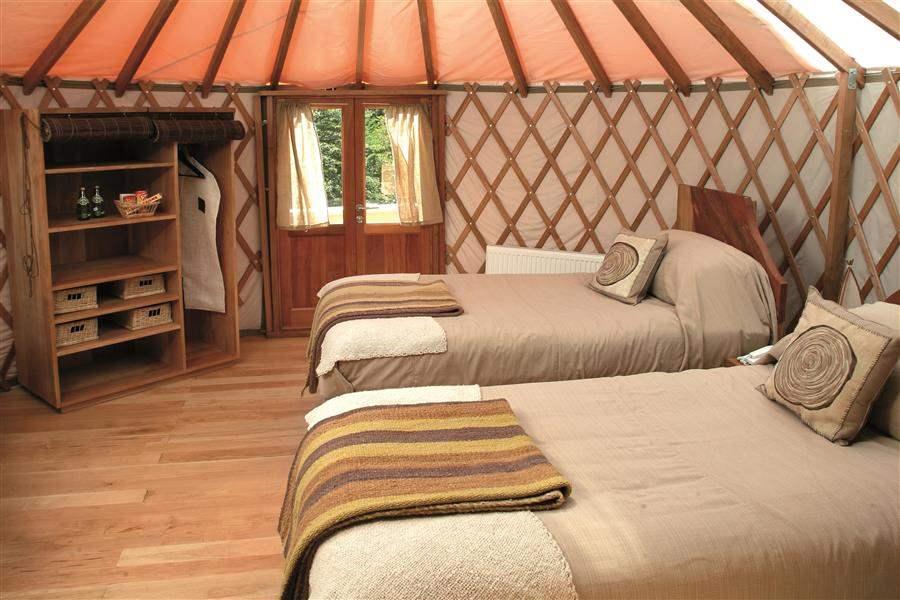 Patagonia Camp twin yurt