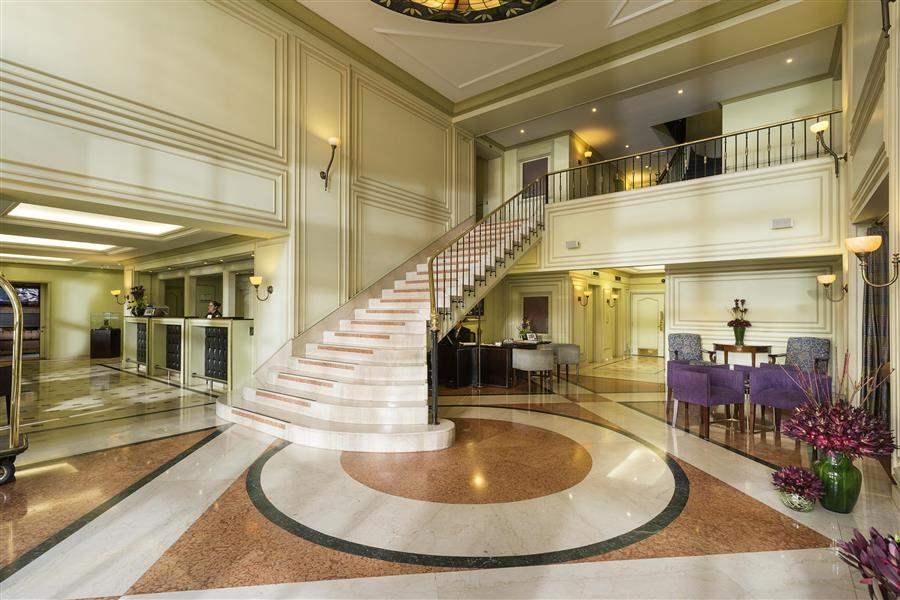 Sofitel Victoria Regina Reception Staircase
