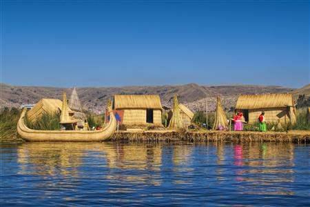 Peru Lake Titicaca Floating Villages Uros