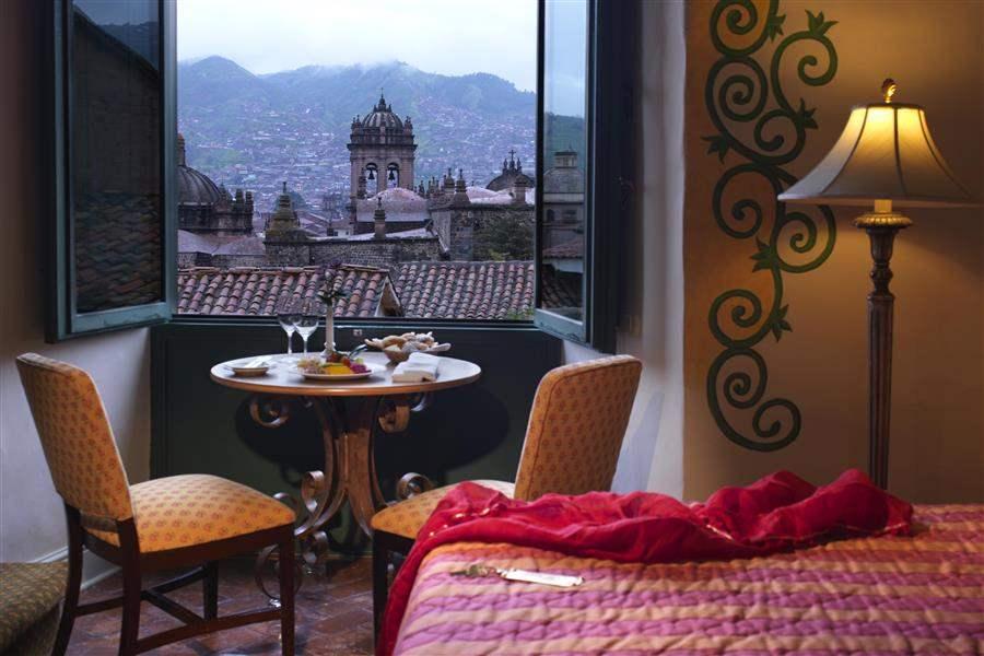 Hotel Monasterio Cusco room view