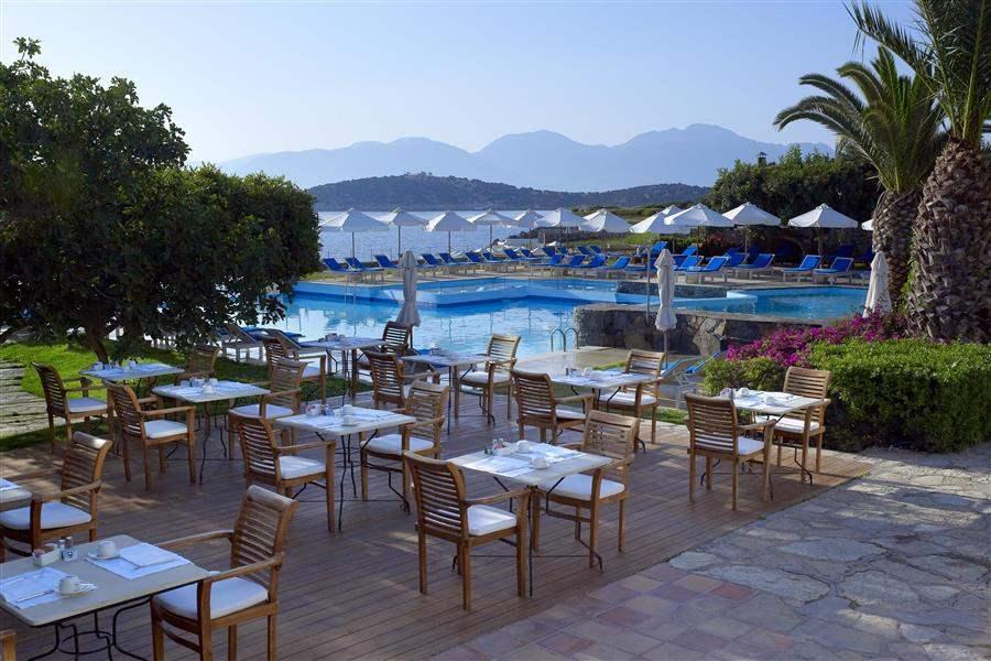 Restaurant on pool terrace