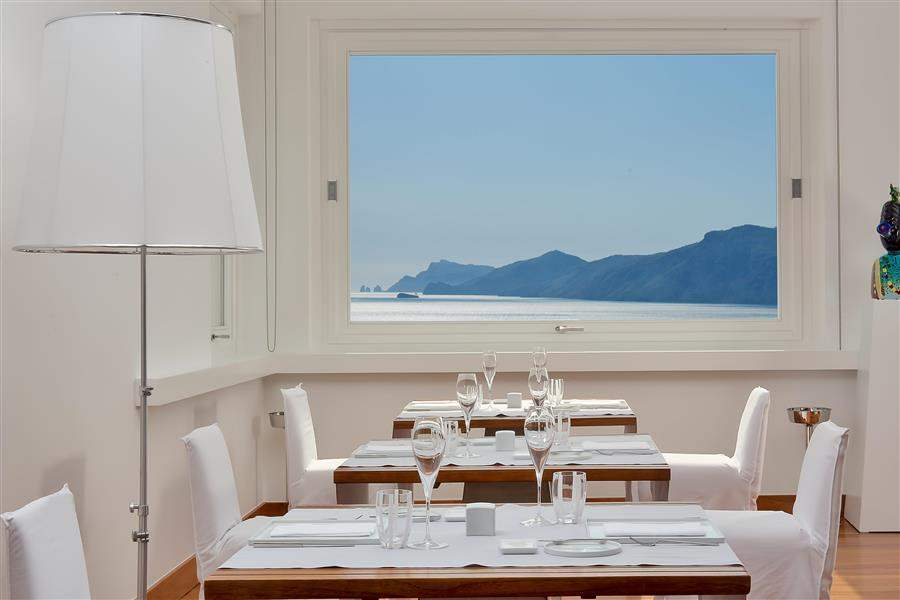 Restaurant with views
