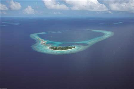 Constance Halaveli Resort Resort Aerial