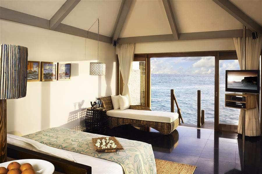 Vivanta By Taj Coral Reef Maldives Water Villa Bed
