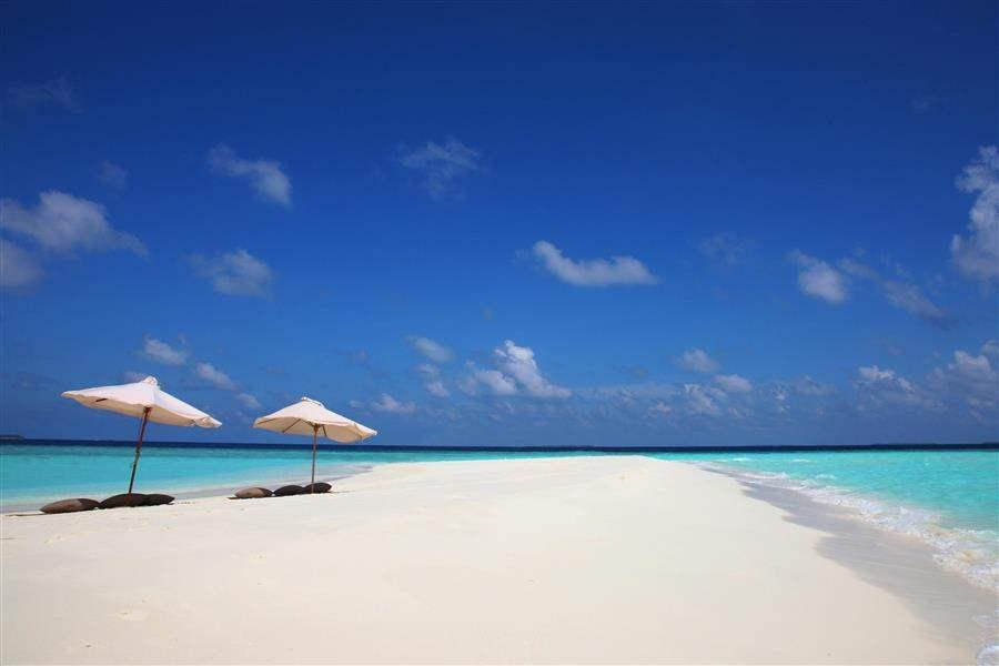 Soneva Fushi Resort Sandy Beach