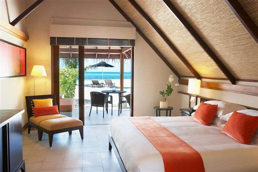 L U X South Ari Atoll Maldives Beach Pavillion Bed