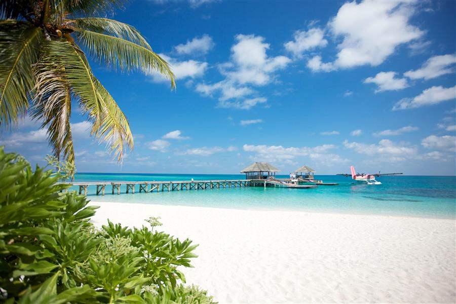 L U X South Ari Atoll Maldives Sea Plane Jetty
