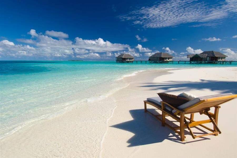 Conrad Maldives Rangali Island Beach Loungers