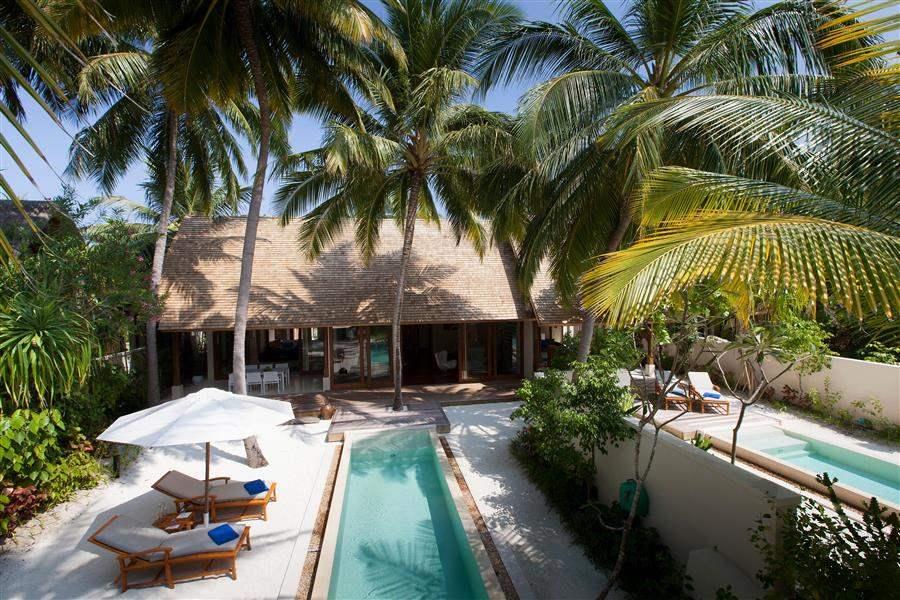 Conrad Maldives Rangali Island Beach Suite Exterior