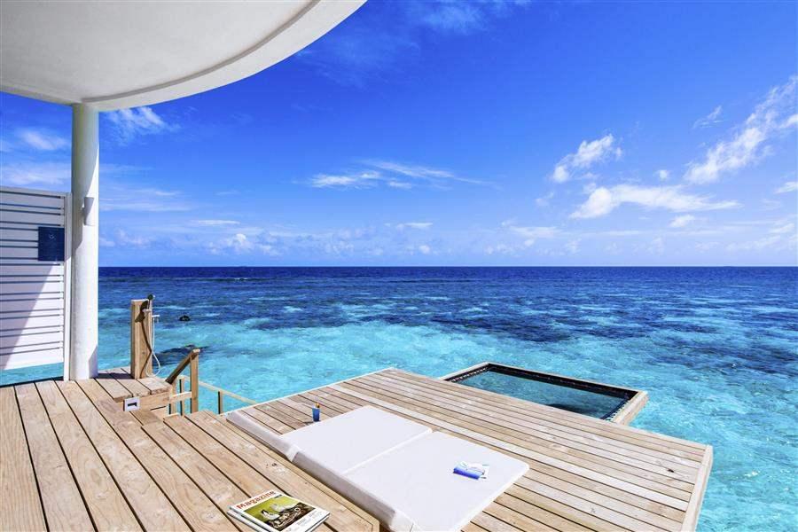 Ocean Water Villa Deck