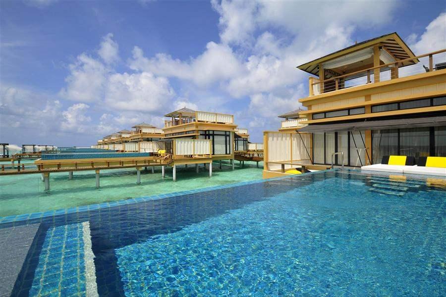 Angsana Velavaru Resort and Spa Villa Pool Exterior