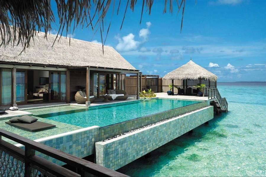 Shangri La Villingili Resort  and Spa Villa Muthee Pool