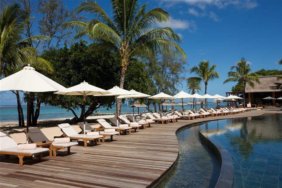 Outrigger Mauritius Beach Resort Poolside