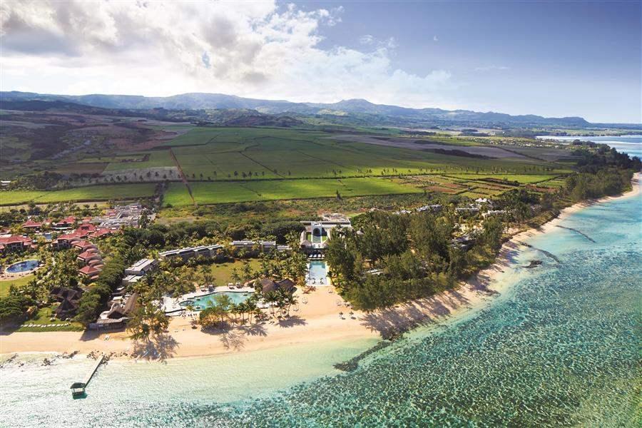 Outrigger Mauritius Beach Resort Resort Aerial