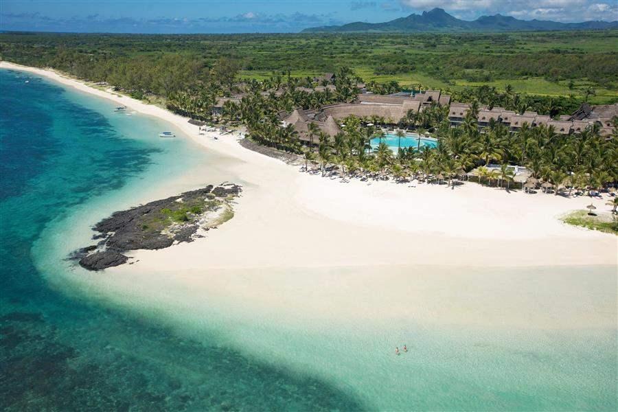L U X Belle Mare Resort Aerial