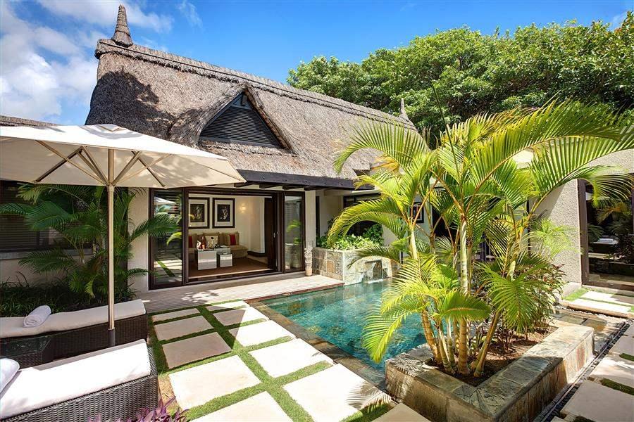 L U X Belle Mare Ocean Villa Exterior