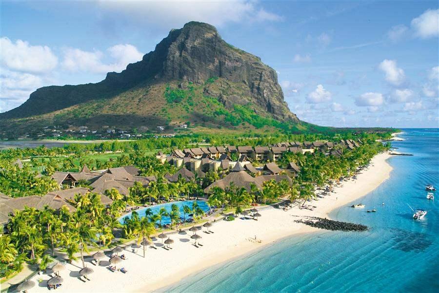 Paradis Hoteland Golf Club Beach Overview