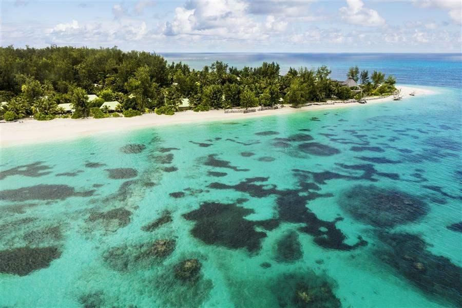 Denis Private Island Aerial