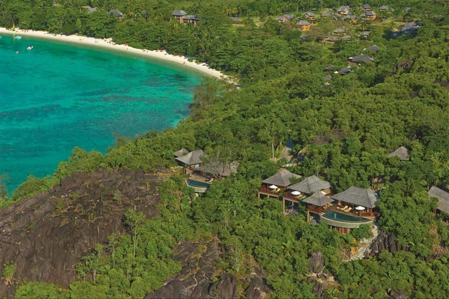 Constance Ephelia Resort, Mahe Aerial