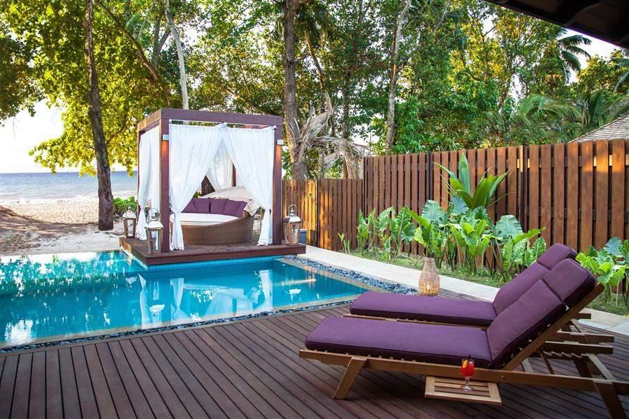 H Resort Beau Vallon Beach Beach Villa Exterior
