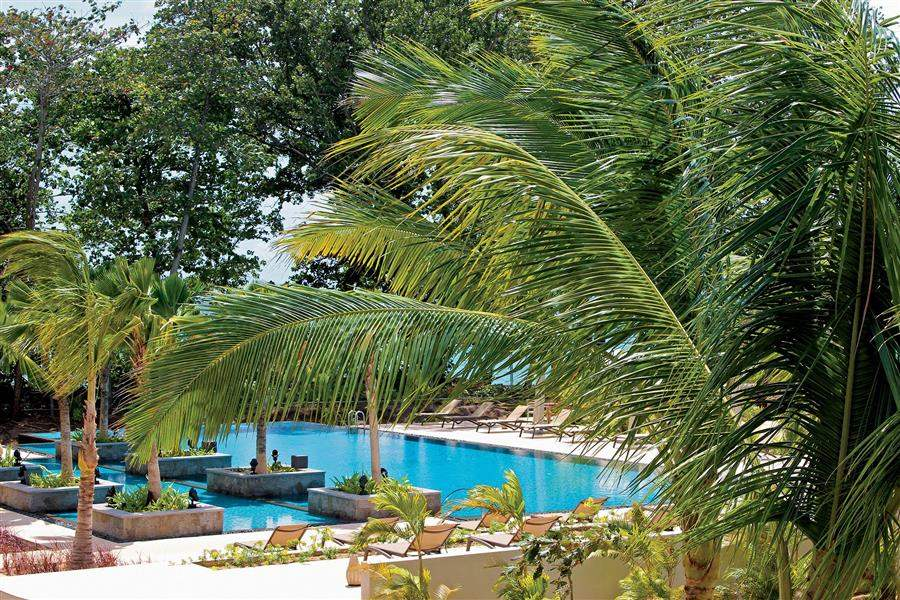 H Resort Beau Vallon Beach Pool Area