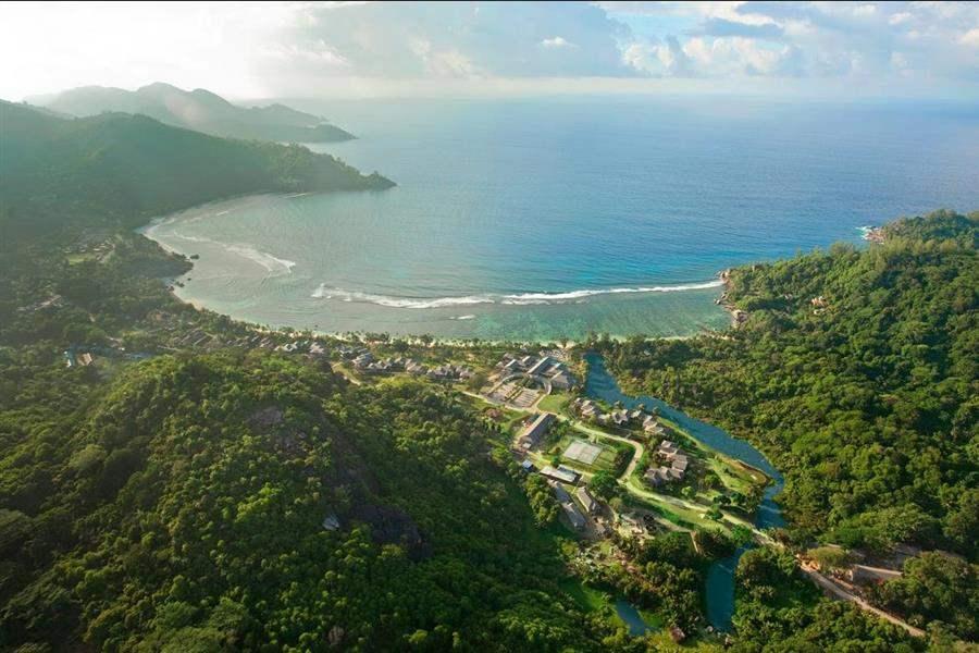 Kempinski Seychelles Resort, Mahe Resort Aerial
