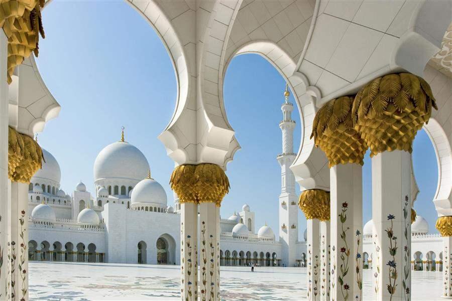 abu dhabi mosque abu dhabi united arab emirates