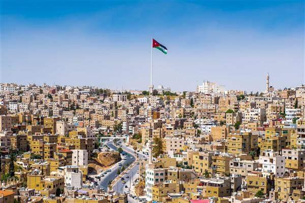 Jordan Amman City Scene